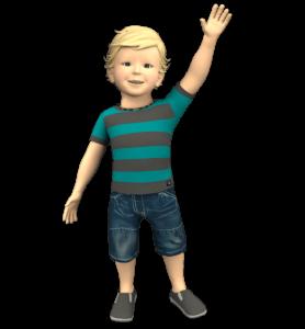 Samuel signos - signo de bebé - Juego educativo - lenguaje de signos - Seasign -samuel 1