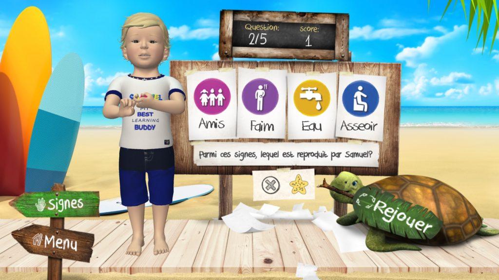 samuel-signes-signe-bebe-jeu-educatif-langage-signes-seasign-application-quiz amis en