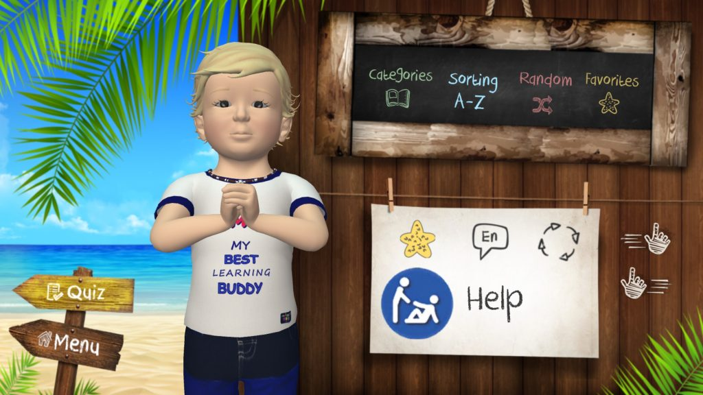 samuel signs-sign baby-educational game-signs language -seasign- help sign