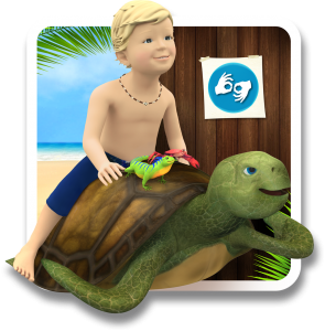 samuel signs-sign baby-educational game-signs language -seasign- logo application