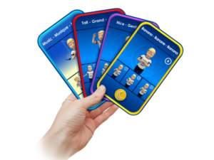 Samuel Signs - cards packages - educational game - simplified sign language