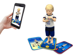 Samuel Signs - digital cards - educational game - simplified sign language