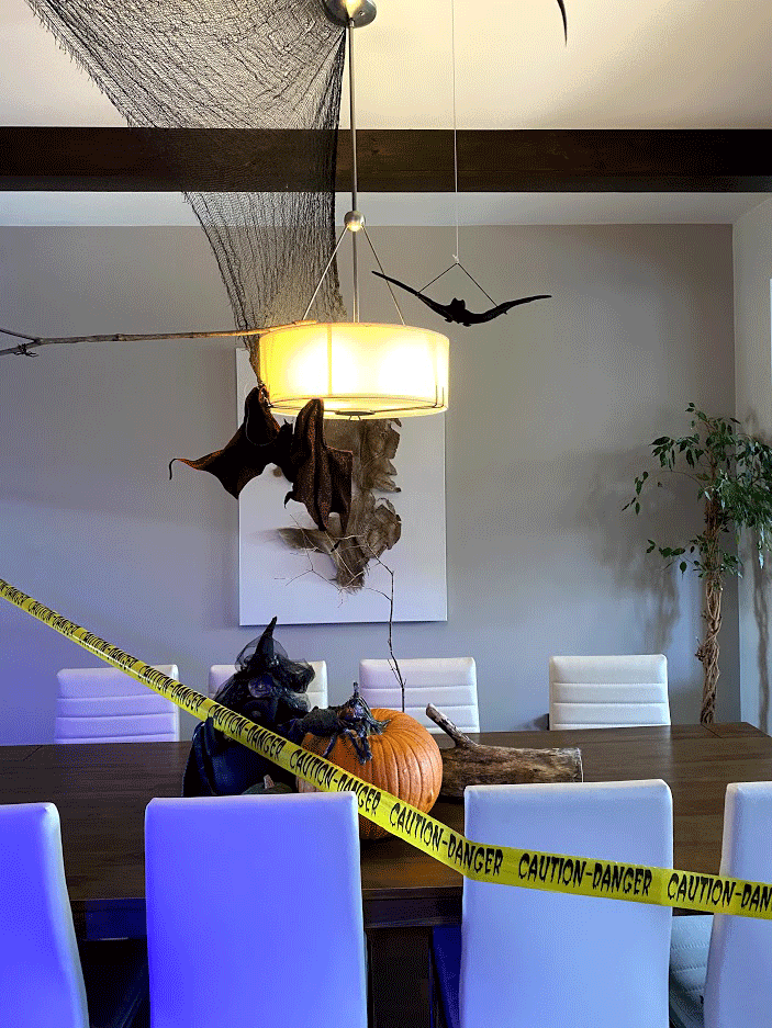 blogue eugenie miron photo Mon-intensité-dans-ma-deco-d'Halloween-salle-a-manger