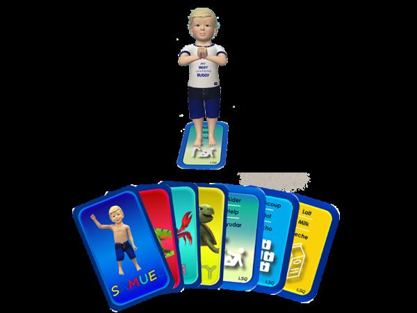 Samuel Signes - combo cartes numériques - jeu éducatif